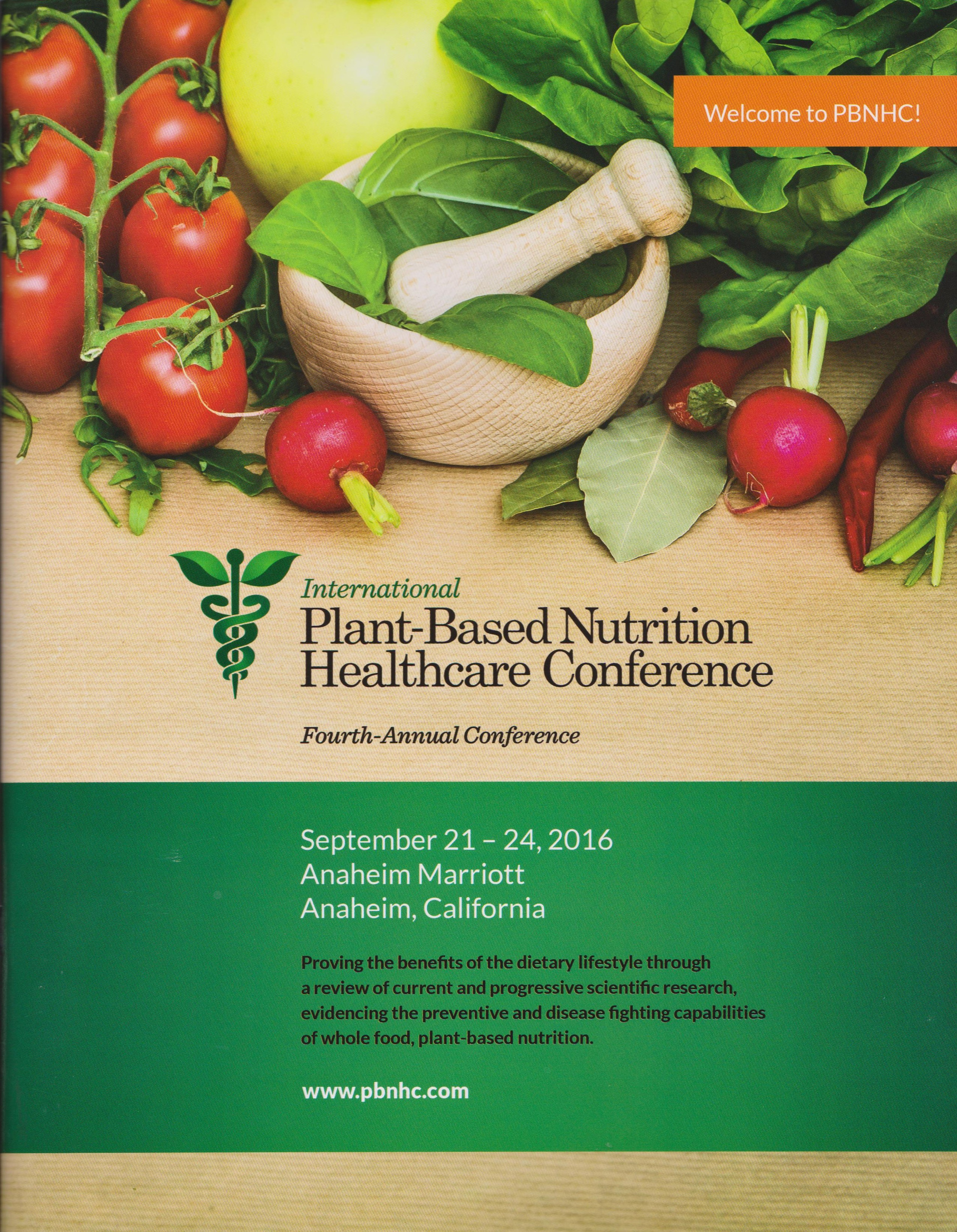 (ブログ) International Plant-based Nutrition Healthcare Conference 2016